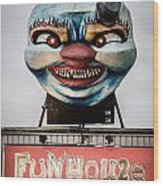 The Funhouse Wood Print