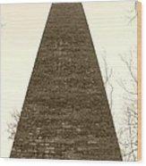 The Furnace Wood Print