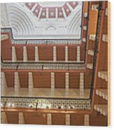 The Galleries The Taj Hotel Wood Print