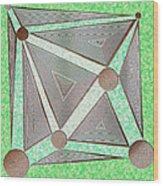 The Gamble Wood Print