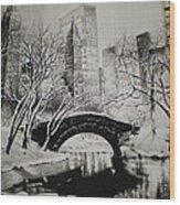 Bridge To The World Wood Print