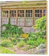 The Garden At Juniata Crossings Wood Print