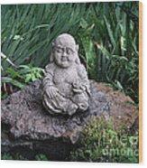 The Garden Keeper Wood Print