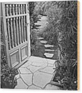 Special Pricing The Garden Path Wood Print