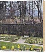 The Gardens At Biltmore Estate II Wood Print