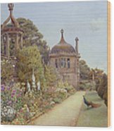 The Gardens At Montacute In Somerset Wood Print