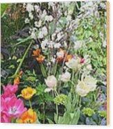The Gardens Wood Print