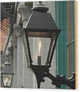 The Gas Light Wood Print