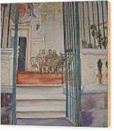The Gate Keeper Wood Print