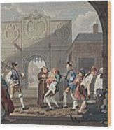 The Gate Of Calais, Or O The Roast Beef Wood Print