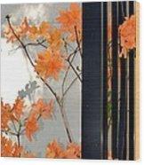 The Gatekeepers Wood Print