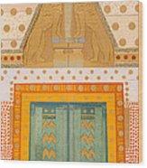 The Gateway Of Troy Wood Print