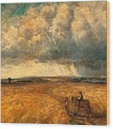 The Gathering Storm, 1819 Wood Print by John Constable