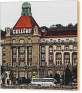 The Gellert Hotel Wood Print