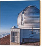 The Gemini Observatory Wood Print