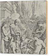 The Genius Of Salvator Rosa Wood Print