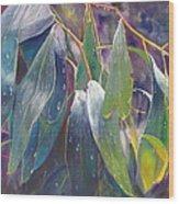 The Gentle Rain Wood Print