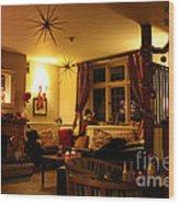 The George Inn Middle Wallop Wood Print