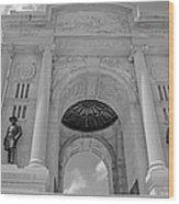 The Gettysburg Pennsylvania State Memorial  3 Wood Print