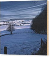 The Geul Valley Near Epen Wood Print