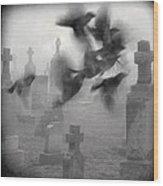 The Ghost Birds Wood Print