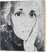 The Gingerbread Girl Wood Print
