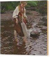 The Girl From Alvdalen Wood Print