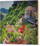 The Godfather Villages Of Sicily Wood Print