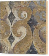 The Golden Ornaments Wood Print