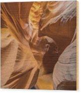 The Golden Passage Way Wood Print