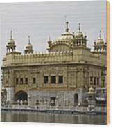 The Golden Temple In Amritsar Wood Print