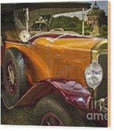 The Golden Twenties Wood Print