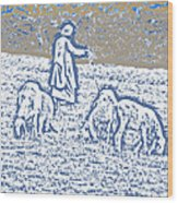 The Good Shepherd 2 Wood Print