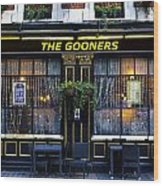 The Gooners Pub Wood Print