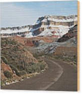 The Gorge Arizona Wood Print