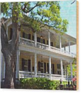 The Governors House Inn Wood Print