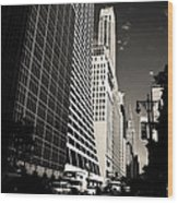 The Grace Building And The Chrysler Building - New York City Wood Print