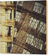 Surrealism At The Grace Building New York Wood Print