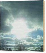 The Grace Of God Wood Print