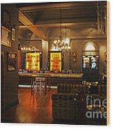 The Grand Cafe Southampton Wood Print
