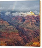 The Grand Canyon After The Storm Wood Print