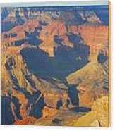 The Grand Canyon From Outer Space Wood Print