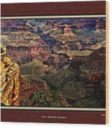 The Grand Canyon Wood Print by Tom Prendergast
