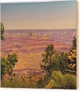 The Grand Canyon Vintage Americana Iv Wood Print
