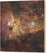 The Great Nebula In Carina Wood Print