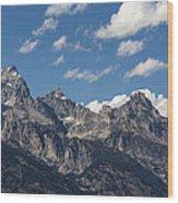 The Grand Tetons - Grand Teton National Park Wyoming Wood Print