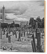 The Graves Wood Print