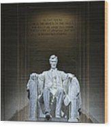 The Great Emancipator Wood Print
