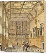 The Great Hall, Hatfield, Berkshire Wood Print