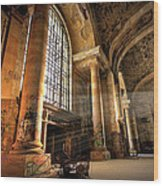 The Great Hall Wood Print
